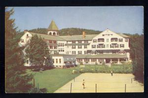 Woodstock, Vermont,VT Postcard, Woodstock Inn, Tennis Court