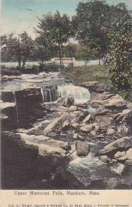 Upper Minneopa Falls, Mankato, Minnesota, PU_1908
