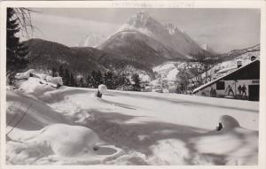 Germany Mittenwald Alpengasthof Reineck Real Photo