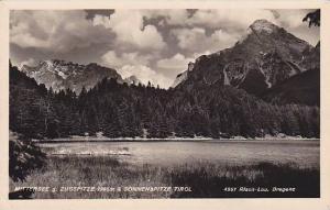 RP, Mittersee g. Zugspitze 2965m & Sonnenspitze, Tirol, Austria, 1920-1940s