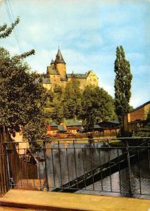 Schwarzenberg Castle Schloss River General view