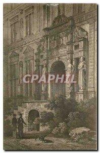 Postcard Old Heidelberg Das Portal Otto Heinrichsbau