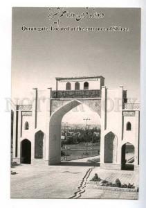 221558 IRAN Persia Qoran gate located at entrance Shiraz