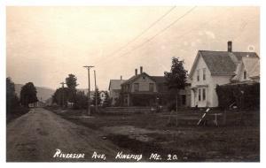 Maine  Kingfield ,  Riverside Avenue ,  RPC
