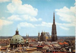 Vienna Panorama with St Stephen's Cathedral, Stephansdom Gesamtansicht