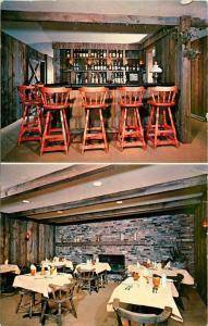 Pierre Restaurant Lounge Motel Colchester Vermont VT junction US 2-7-2 Postcard