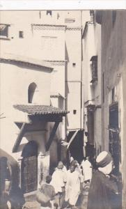 Algeria Alger Typical Street Scene Photo
