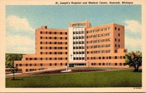 Michigan Hancock St Joseph's Hospital and Medical Center Curteich