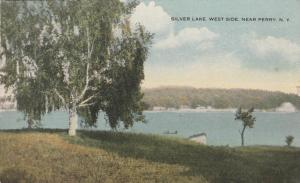 West Side of Silver Lake near Perry New York - DPO 1915 - DB