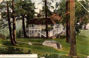 California Yosemite Valley Glacier Point Hotel 1910