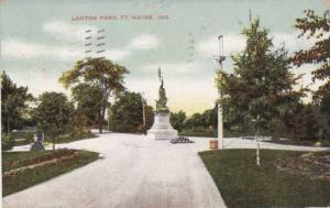 Lawton Park - Fort Wayne IN, Indiana - pm 1908 - DB