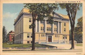 11806   NH  Manchester 1940's  Masonic Temple