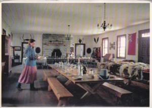 Minnesota Grand Room Of Great Hall Grand Portage National Monument