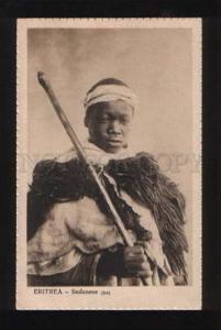 053781 Eritrea Sudanese man in native dress Vintage