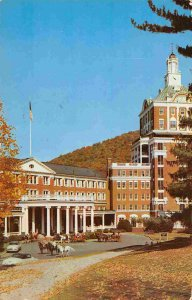 Homestead Hotel Hot Springs Virginia 1953 postcard