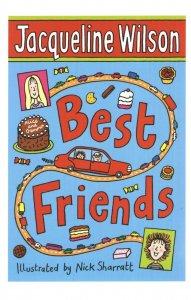 Jacqueline Wilson Best Friends Childrens Book Postcard