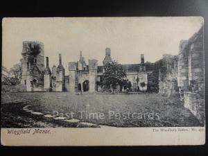 Derbyshire: Wingfield Manor c1905 Pub by The Woodbury Series No.457