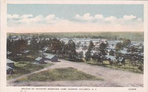Section Of Infantry Barracks Camp Jackson Columbia South Carolina