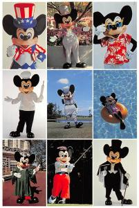 Walt Disney World, Mickey's Florida Collection, Many Faces of Mickey Mouse