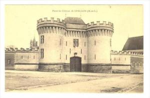 Porte Du Chateau De CHALLAIN (Maine-et-Loire), France, 1900-1910s
