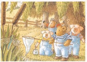 Anthropomorphic Bad Mood Bear by Hutchinson Children's Book, John Richardson