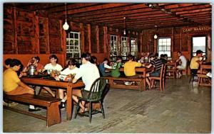 SPOFFORD, New Hampshire  NH    CAMP NOTRE DAME  Lake Spofford   Postcard