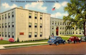 Florida Tallahassee Administration Building Curteich