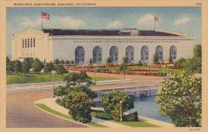 Municipal Auditorium Oakland California