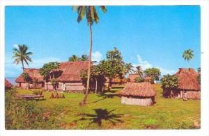 Fijian Village, 1960s