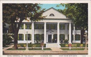 KILBOURN, Wisconsin, 1900-1910's; Hotel Crandall