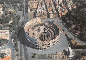 Italy Roma Colosseo, The Colosseum, Le Colisee Vue aerienne