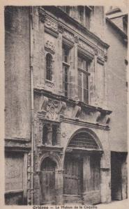 Orleans Maison De Le Coquille Renaissance Architecture Antique French Postcard