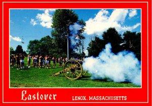 MA - Lenox. Eastover Resort, Old Weapons Demonstration