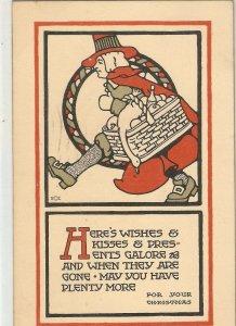Lot o three (3) old vintage American Greetings postcards