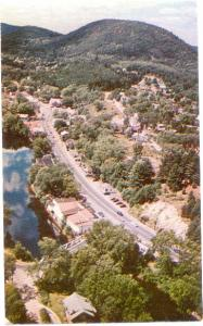 Air View of Warrensburg NY New York