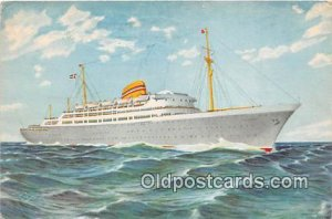 Norwegian American Line MS Oslofjord Ship 1965