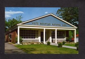 VT White Mountain National Bank North Conway New Hampshire Postcard
