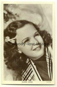 b0814 - Film Actress - Gloria Jeans - Picturegoer postcard no 1312