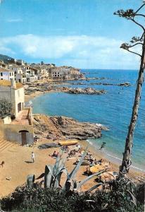 Spain Costa Brava Calella de Palafrugell Playa Beach Panorama