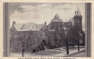 Central Methodist Church, Monroe, North Carolina, PU-30s