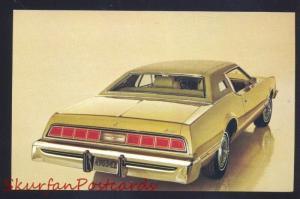 1974 FORD THUNDERBIRD 2 DOOR HARDTOP VINTAGE CAR DEALER ADVERTISING POSTCARD