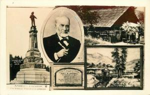 1930s Coloma California RPPC Photo Postcard Marshall Monument Multi View 11731