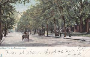 ATLANTA , Georgia , 1906 ; Peachtree Street