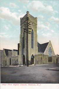 First Baptist Church, Paterson, New Jersey, 1900-1910s