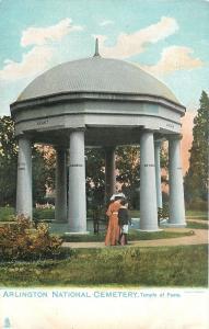 Arlington National Cemetery Virginia~Temple of Flame~1907 TUCK Postcard