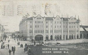OCEAN GROVE, New Jersey, 1911 ; North End Hotel