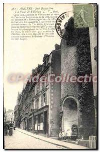 Postcard Old Street Baudri?re Angers La Tour De Villebon