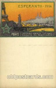 Esperanto-1914, Paris  Esperanto-1914, Paris