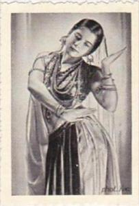 GARBATI CIGARETTE CARD FAMOUS DANCERS NO 205 SIMKIE