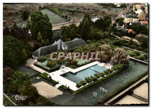 CPM Vichy Aerienne View From Sporting Club